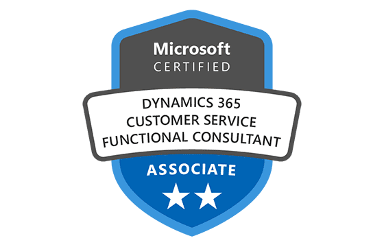 Microsoft Certified: Dynamics 365 Customer Service Functional Consultant Associate Exams