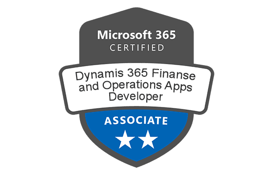 Microsoft Certified: Dynamics 365: Finance and Operations Apps Developer Associate Exams