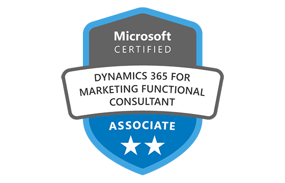 Microsoft Certified: Dynamics 365 Marketing Functional Consultant Associate Exams