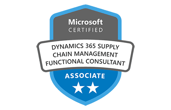 Microsoft Certified: Dynamics 365 Supply Chain Management Functional Consultant Associate Exams