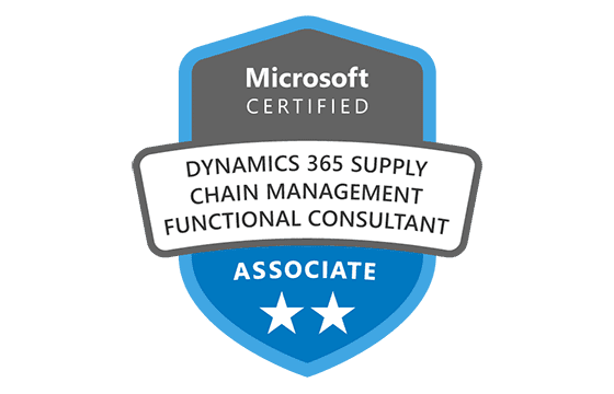 Microsoft Certified: Dynamics 365 Supply Chain Management, Manufacturing Functional Consultant Associate Exams